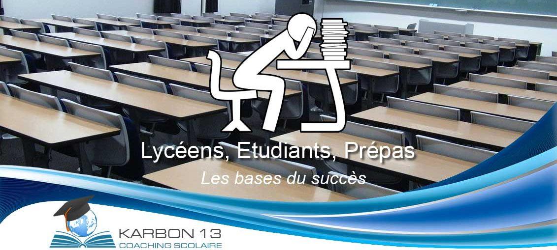Karbon 13 - Les bases du succes scolaire